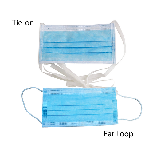 3-Ply Disposable Medical Face Mask