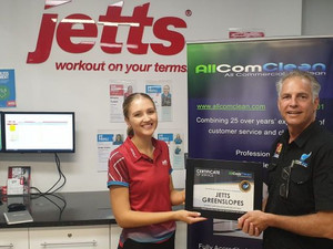 Jetts! Another Happy Customer