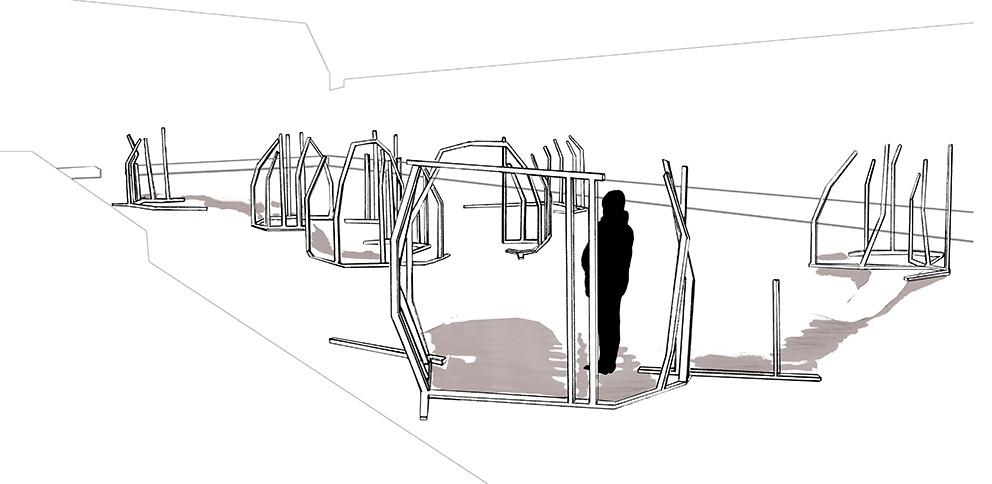 Project simulation on location, 2021