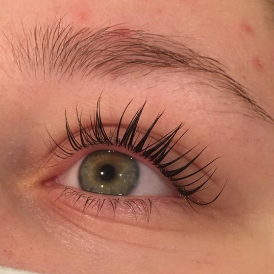 Lash Lift- After
