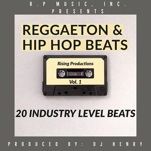 R.P Music, Inc. Presents Reggaeton & Hip Hop Beats Vol. 1