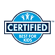 Certified Best For Kids Icon
