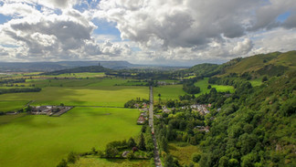 Landscape aerial photography.