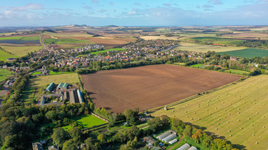 East Linton, Drone photography.