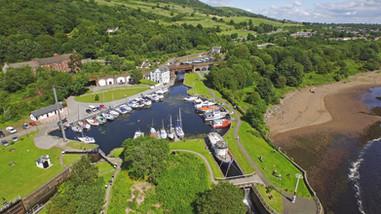 Bowlin Harbour, Scottish Canals