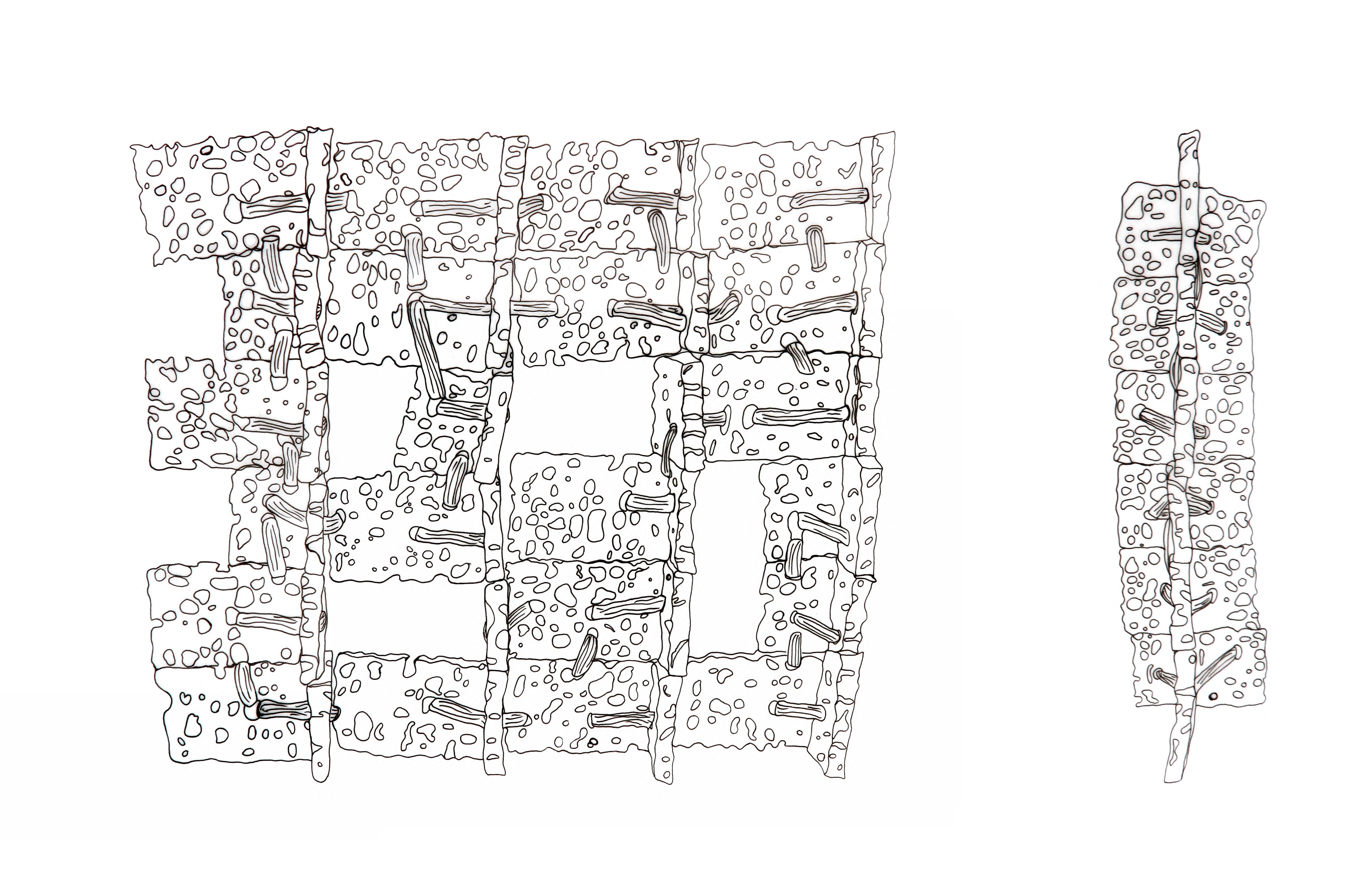 Waxed Sponge & Rubber - facade