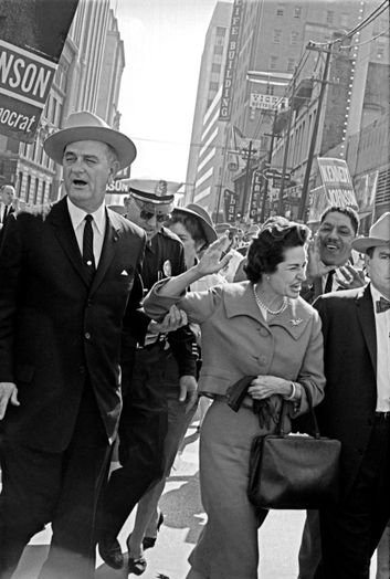 LBJ and Lady Bird Johnson
