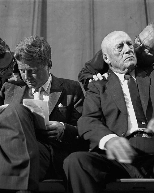 JFK and Sam Rayburn