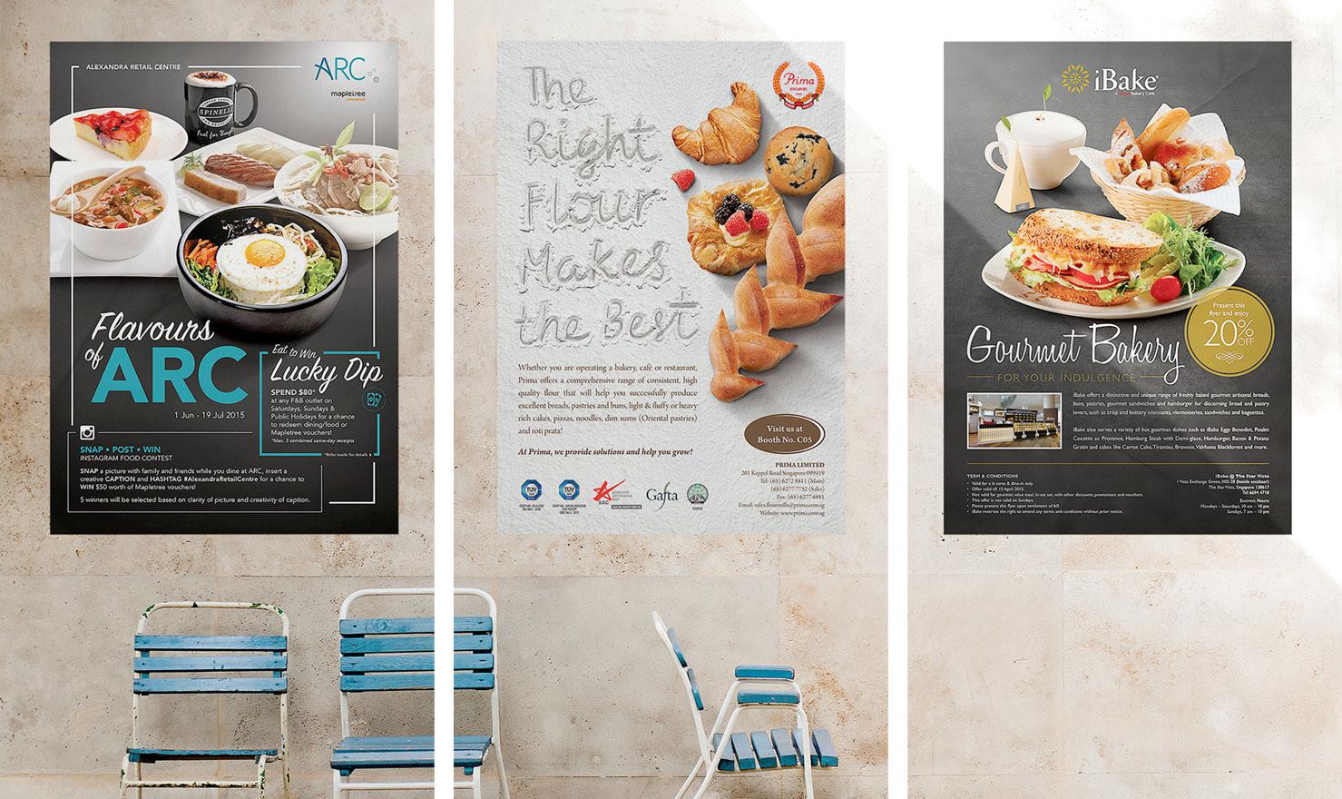 F&B Poster Designs