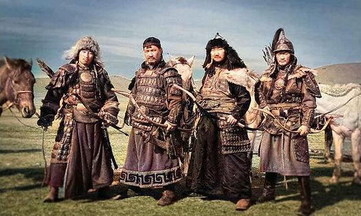 Mongolische Bogenreiter