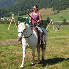 Nicole Glanzmann auf Aragon