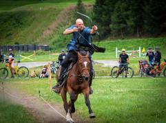 Unser Schweizer Meister Andri Marugg auf Paloma