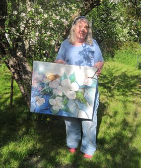 Minnesutställning Karin Sjödin öppnar 20 juni