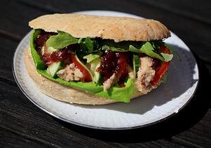 Smörgås med bönröra