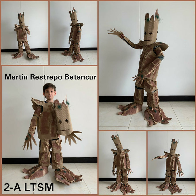 DISFRAZ DE GROOT (MARTIN RESTREPO BETANC