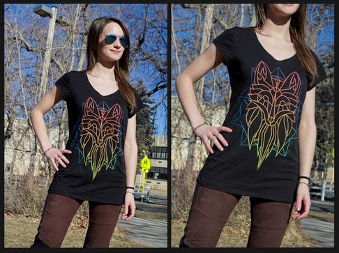 Shirt Graphics - Fractal Fox