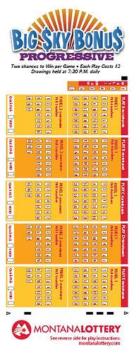 Play Slip Design for Lottery Game