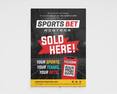 Sports Bet Montana Poster