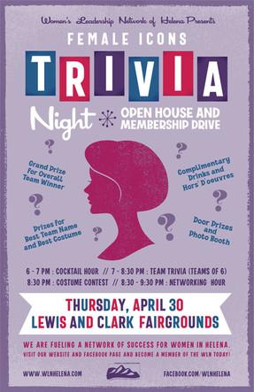 Female Icons Trivia Night