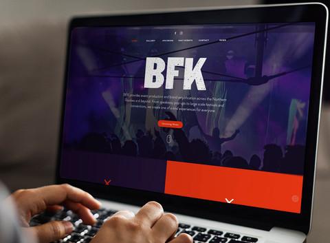 BFK Presents Website Design