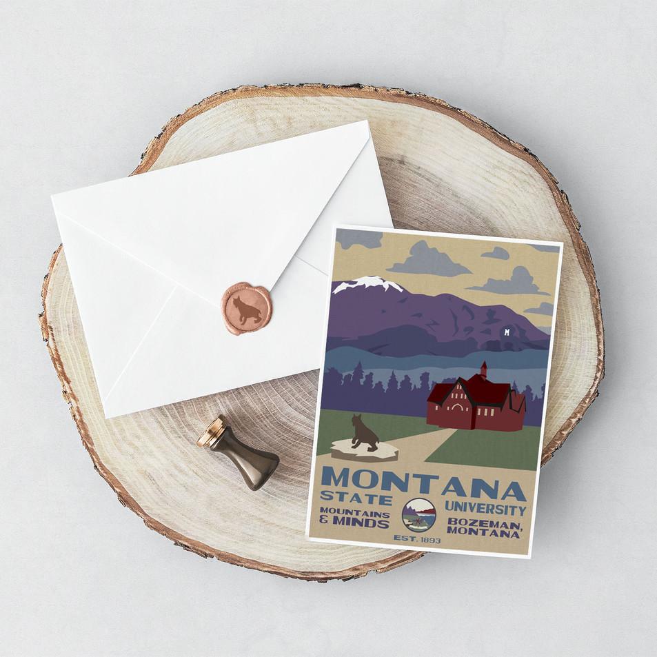 MSU Postcard