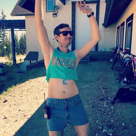 Ryan struttin' his stuff!
