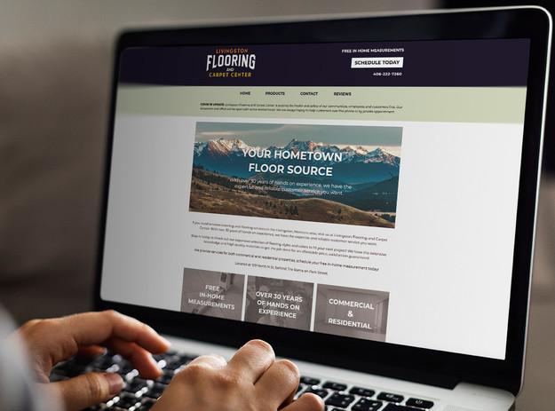 Livingston Flooring Website Design
