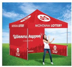 Lottery Event Tent