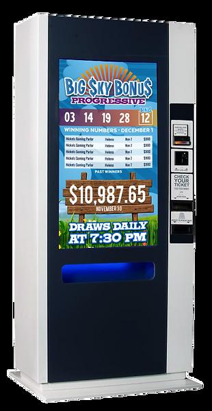 Digital Media Design for Lottery Terminal