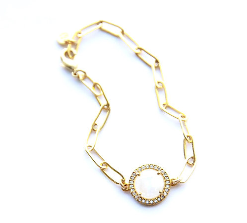 Naperville Moonstone Bracelet