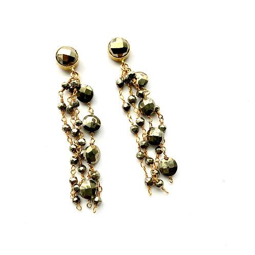 OG Pyrite Earrings