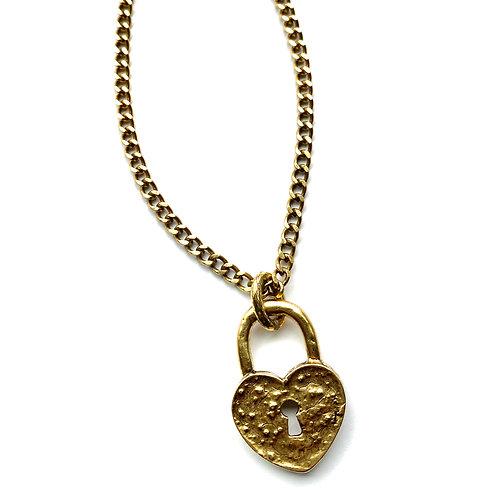 Antique Gold Heart