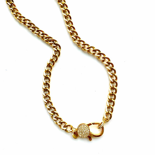 Lakeview Gold CZ Clasp
