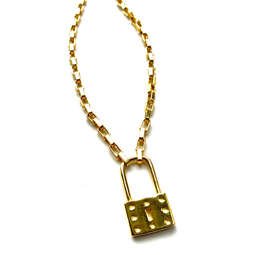 Uptown Gold Lock