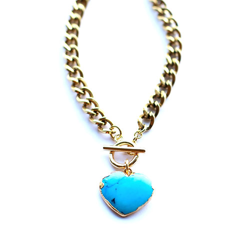 Lakeview Turquoise Heart