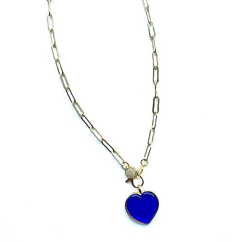 Madison Blue Heart
