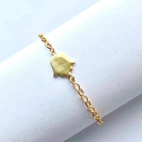 Delicate Hamsa Bracelet