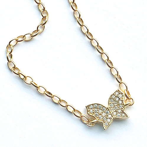 Delicate Butterfly Bracelet