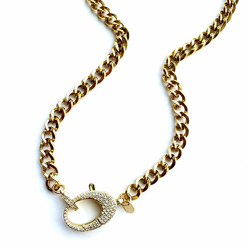 Lakeview Gold Almond Clasp
