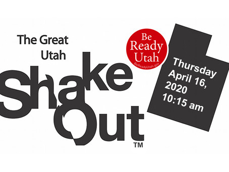The Great Utah Shakeout