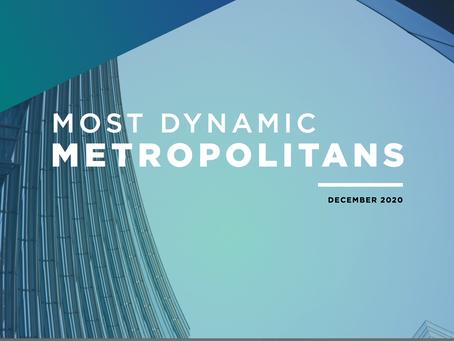 Provo #3 Most Dynamic Metropolitan!