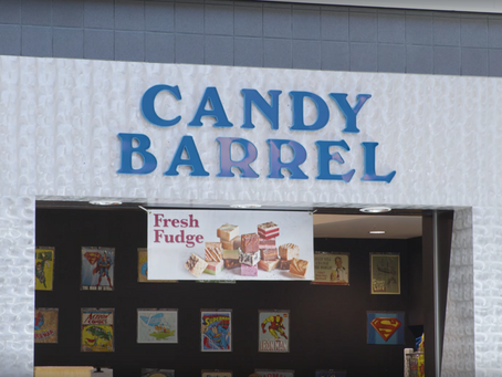 Visit the Candy Barrel!