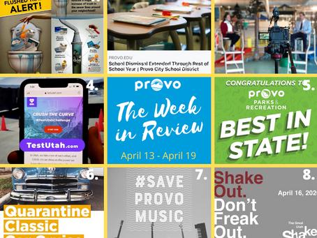 Week in Review | April 13 - April 19