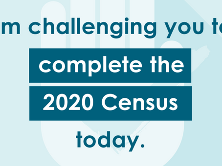 Today is Census Day!