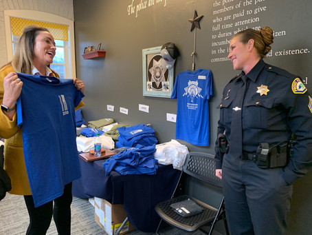 Officer Shinners' Memorial T-Shirts for Sale