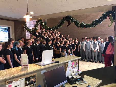 Christmas with the Provo High School Choir