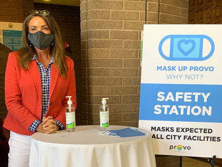 Mask Up Provo: Why Not?