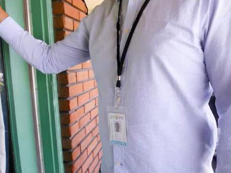 Door to Door Sales Warning