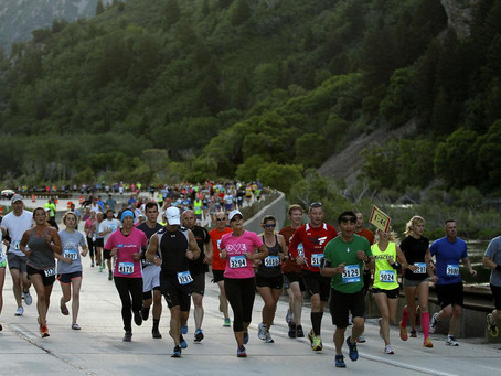 Utah Valley Marathon - Road Closure Heads up!