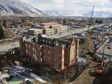 Remembering the Provo Tabernacle Fire